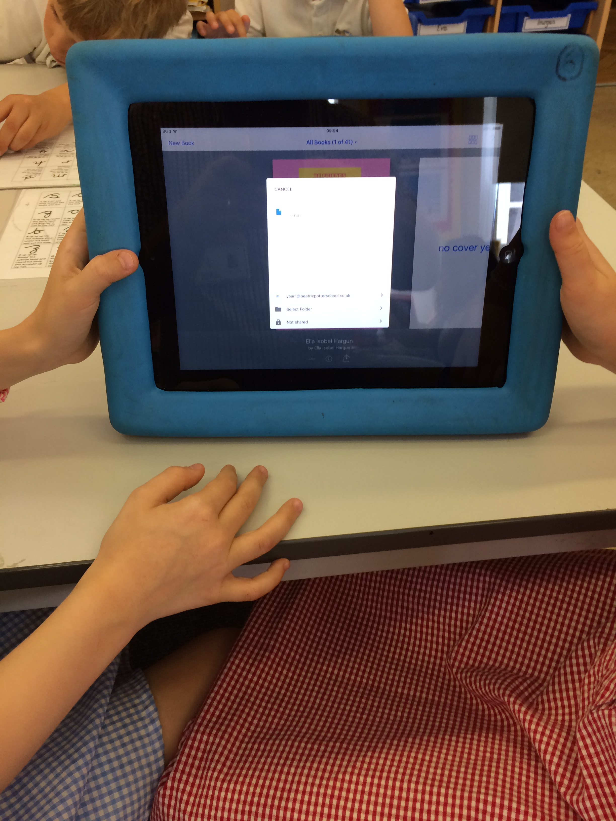 Google Drive and Book Creator in Year 1 – Primary Schools